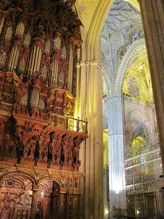 Catedral, Sevilla, Andalusia, Spain by rosinberg, via Flickr