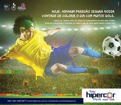 Cliente: Tintas Hipercor // Post: Jogo do Brasil - Copa // Ano: 2014