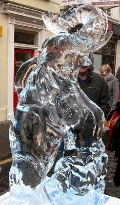 You know you want an elephant ice sculpture.  And, elephants at weddings are known to bring fertility.  Just saying...Lol