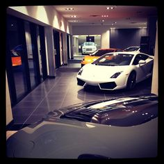 Garagesocial.com: Follow us on instagram and Twitter! @Garagesocial //  Yesterday's #HerbChambers event in #Boston, this #showroom was #epic -- @Lamborghini @Deborah MaHarrey-Royce Motor Cars