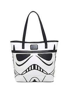 The bag that took the galaxy by storm // Loungefly Star Wars Darth Vader Stormtrooper Tote Bag
