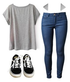 A fashion look from August 2015 featuring short sleeve shirts, blue jeans and vans sneakers. Browse and shop related looks. Jean Outfits, Fall Outfits, Fashion Outfits, Womens Fashion, Spy Outfit, Outfit Jeans, Casual School Outfits, Cute Casual Outfits, Survival Clothing
