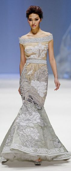 Zhang JingJing S/S 2013 Haute Couture