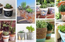 30 Fresh as a Daisy DIY Flower Pot Ideas for Stylish Gardeners