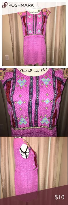 New Directions Tunic Top Size Small New Directions Tunic Top, Embellished with multiple colors of embroidery. In great pre-owned condition. new directions Tops Tunics