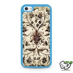Classic Floral Painting iPhone 5C Case