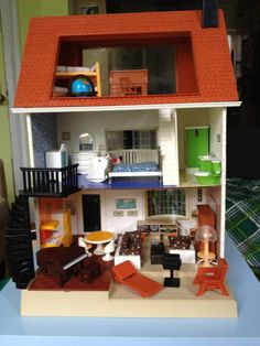 Vintage Fisher Price 1981 Dollhouse with Furniture in Prospect Heights, Brooklyn, NY, USA ~ Krrb