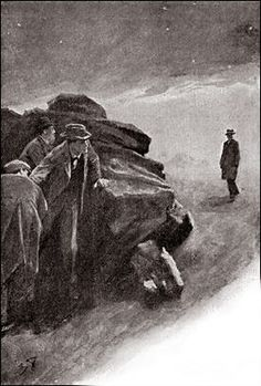 The Hound of the Baskervilles  Chapter XIV The Hound of the Baskervilles SIDNEY PAGET The Strand Magazine, March 1902 'HE LOOKED ROUND HIM IN SURPRISE AS HE EMERGED INTO THE CLEAR, STARLIGHT NIGHT.'