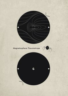 Magnetosphere Thaumatrope: Build your own Thaumatrope with this free cut-out sheet!