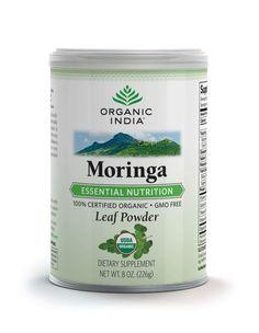 ORGANIC INDIA Moringa----I just purchased it!  I'm gonna start using it!!!