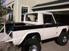 66 Early Bronco Halfcab - Pirate4x4.Com : 4x4 and Off-Road Forum