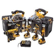 dewalt pack 6 outils dewalt dck699m3t 18v xr (3 x 4.0ah) li-ion + tstaks