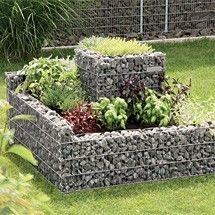 1000 images about des id es pour le jardin on pinterest bon weekend shopp - Fabriquer son gabion ...