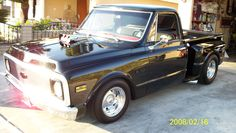 69' chevy truck, the pic says the rest