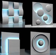 CineLighting™ LED Sculptured Wall Panels