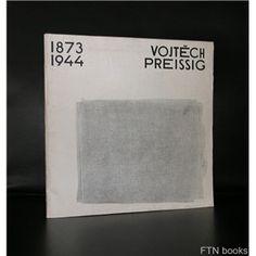 Galerie Vaclava Spalie # VOJTECH PREISSIG 1873-1944# 1968, vg++