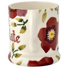 Personalised Christmas Rose 0.5 Pint Mug (Christmas 2015) Discontinued