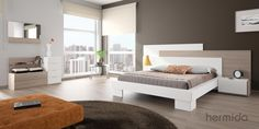 En este dormitorio la vista no es lo más espectacular #NOX (by Muebles Hermida)