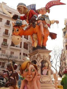Fallas  en València,  Spain