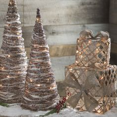 When you're prepping to decorate for the holiday's, start by thinking about lights! Kirkland's pre-lit Christmas decorations do the same but double as your newest holiday nic nac or lantern. Check off your decor to-dos with one-stop shopping!