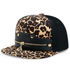 GET $50 NOW | Join RoseGal: Get YOUR $50 NOW!https://www.rosegal.com/hat/faux-leather-splicing-leopard-zipper-1249053.html?seid=10890959rg1249053