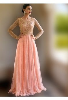Looking to buy Anarkali online? ✓ Buy the latest designer Anarkali suits at Lashkaraa, with a variety of long Anarkali suits, party wear & Anarkali dresses! Anarkali Gown, Anarkali Suits, Saree, Peach Bridesmaid Dresses, Bridesmaids, Indian Suits Online, Designer Anarkali Dresses, Strapless Dress Formal, Formal Dresses