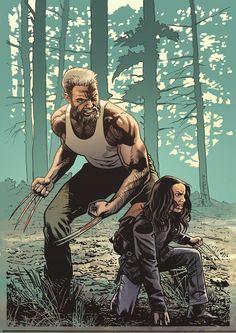 Old Man Logan and X-23