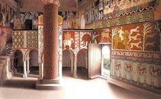 Viajar con el Arte: Las pinturas de San Baudelio de Casillas de Berlanga, en Soria