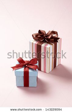 gift boxes on pink background. Gift boxes.