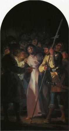 El Prendimiento de Cristo  - Francisco de Goya