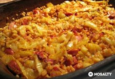 Lecso Recipe, Slow Cooker Recipes, Cooking Recipes, Hungarian Recipes, Macaroni And Cheese, Crockpot, Food And Drink, Pork, Lunch
