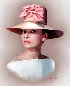 Audrey Hepburn   www.facebook.com/Ebn.Misr.gallery