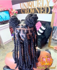 Short Locs Hairstyles, My Hairstyle, Fancy Hairstyles, Black Girls Hairstyles, Dreadlock Styles, Dreads Styles, Curly Hair Styles, Natural Hair Styles, Nattes Twist Outs