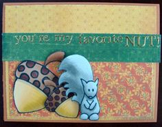 Squirrel and Acorn   Step-by-step copic coloring tutorial by Michelle Houghton   GetItScrapped.com/blog