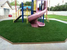La Petite Academy choose EasyTurf www.easyturf.com l outdoor living l backyard l artificial turf l fake grass l playground l play area l kid friendly