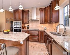 The Beaumont Collection is the definition of sophistication and elegance for any space. Dark Wood Kitchen Cabinets, Kitchen Cabinets For Sale, Kitchen Cabinets Pictures, Brown Cabinets, Kitchen Cabinet Remodel, Kitchen Flooring, Kitchen Countertops, Cherry Cabinets, Kitchen Islands