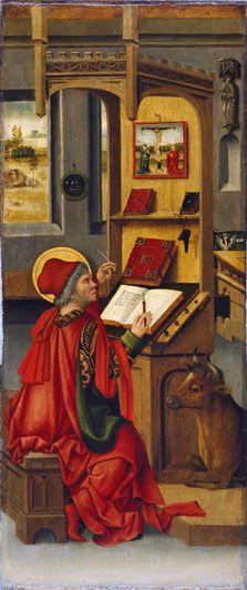 Saint Luke the Evangelist, Gabriel Mälesskircher