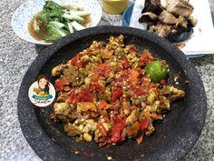 Sambal Tempe Penyet – Cooking with Sheila Main Menu, Paella, Cooking, Ethnic Recipes, Food, Kitchen, Essen, Meals, Eten