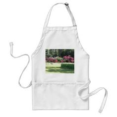 Lovely Spring Day In The Park Adult Apron - spring gifts beautiful diy spring time new year
