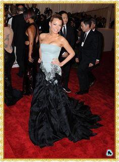 Blake Lively Met Gala 2013 red carpet