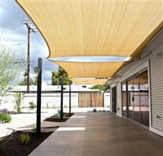 This Extra Large Rectangle Sail Shade will protect and shade your outdoor area. They make beautiful additions to your patio, backyard, or other outdoor areas, and are an attractive addition to any property.