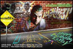 #RebirthOfCool #Poster #eflyer  #Jeudi #Thursday #nightlife #montreal #party #HipHop #OldSchool #music #artwork #logo #photoshop #design #cocktails #bottleservice #events