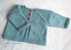 Baby Cardigan / Knitting Pattern Instructions by LittleFrenchKnits Diy Crochet Cardigan, Baby Cardigan Knitting Pattern, Baby Knitting Patterns, Baby Patterns, Knit Cardigan, Toddler Sweater, Jacket Pattern, Knitting For Kids, Baby Sweaters