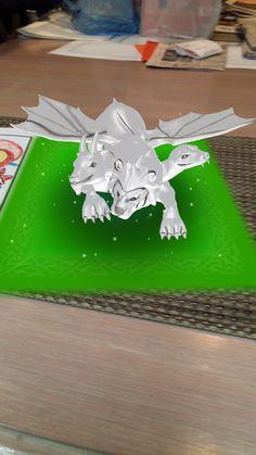 Animated Lion Dragon
