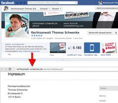 Das Impressum | Rechtliche Stolperfallen beim Facebook Marketing Teil 4 - Mehr Infos zum Thema auch unter http://vslink.de/internetmarketing
