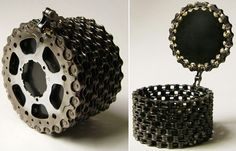 Creative+Ideas | Creative Ideas with Recycled Bicycle Chain | Ideas for Home Garden ...