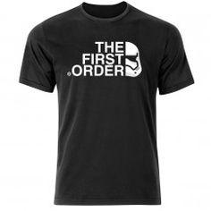 Star Wars - The First Order Stormtrooper Logo T Shirt