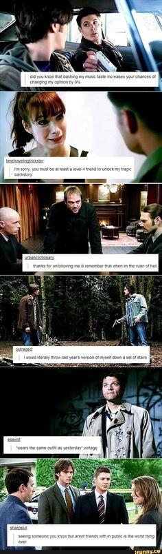 Image result for tumblr my name is dean winchester post