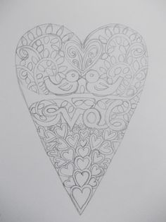Original hand drawn 'love birds' papercut design by Nina Byers