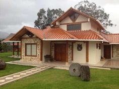 Cottage House, Tiny House, Country House Design, Prefab, Ideas Para, Gazebo, Farmhouse, Outdoor Structures, Cabin